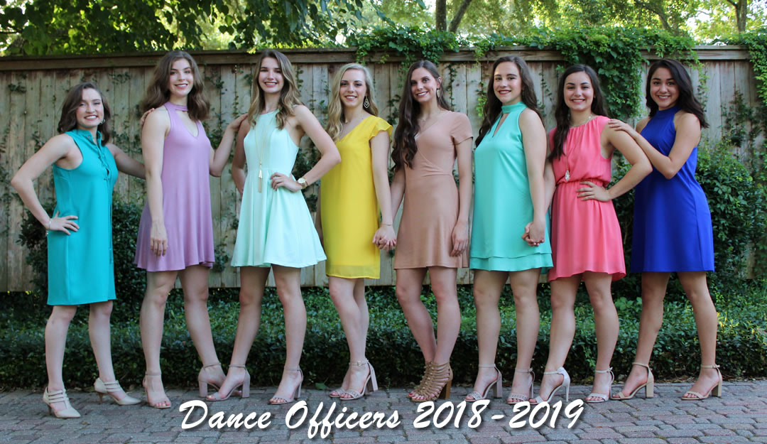DPHS Escorts Dance Officers 2018-2019